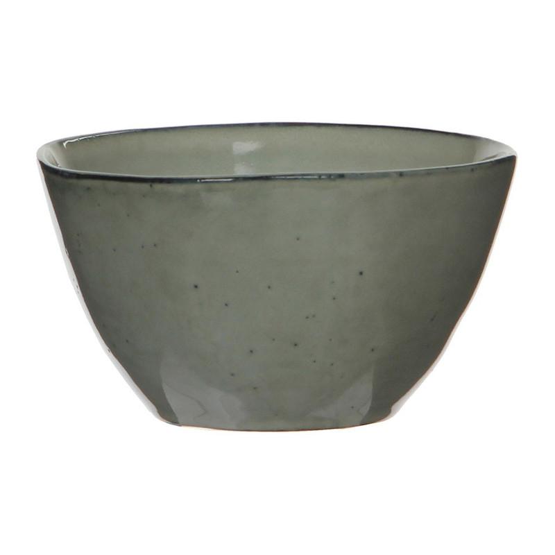 Mica schaal Tabo - 11 cm - grijs
