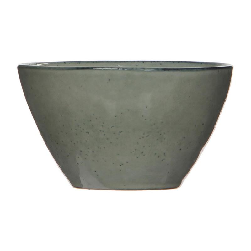 Mica schaal Tabo - 14 cm - grijs