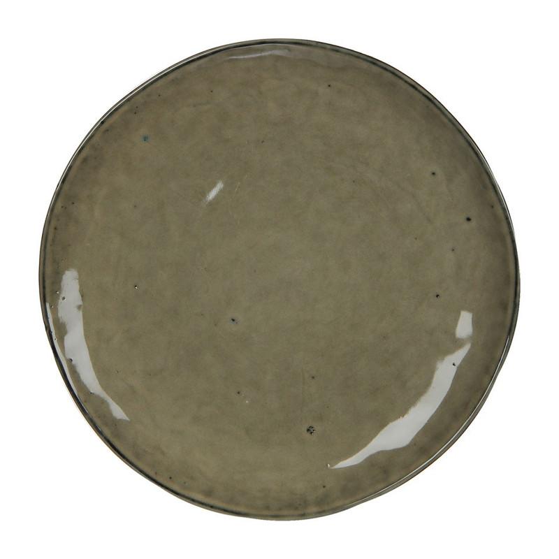 Mica bord Tabo - 20.5 cm - crème