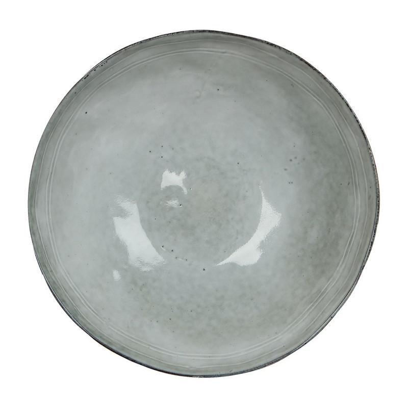 Mica bord Tabo - 26.5 cm - grijs