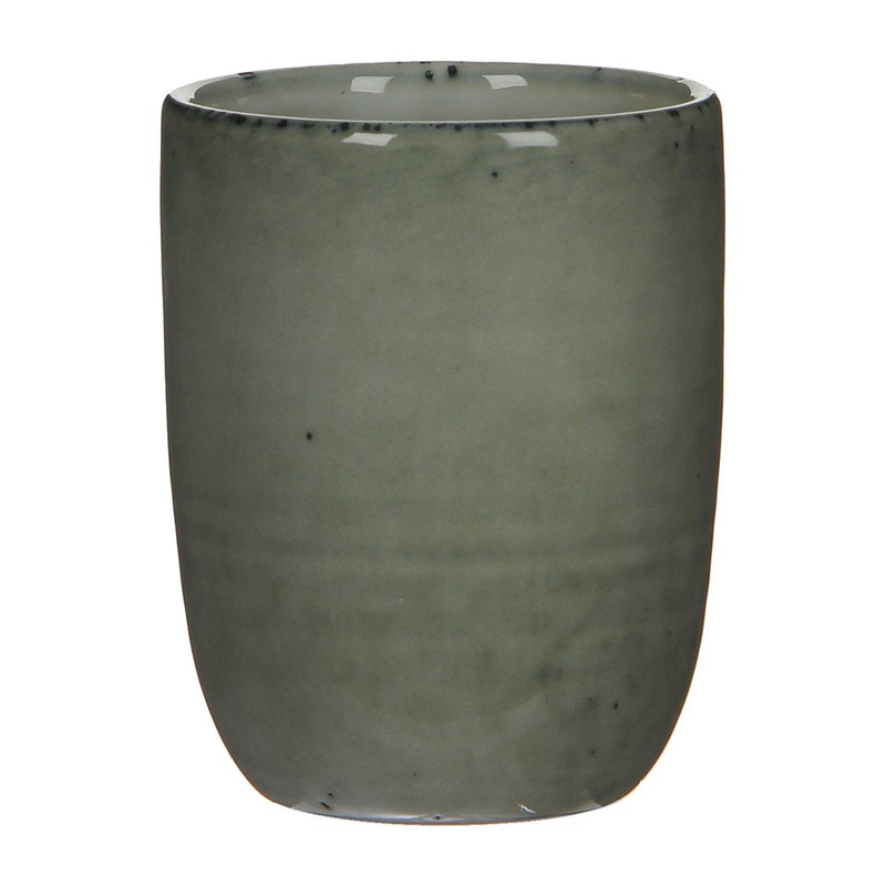Mica beker Tabo 7.5 cm - grijs