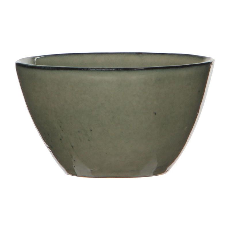 Mica schaal Tabo - 11 cm - crème