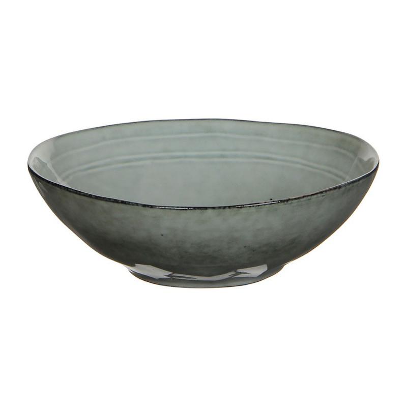 Mica schaal Tabo - 20 cm - grijs
