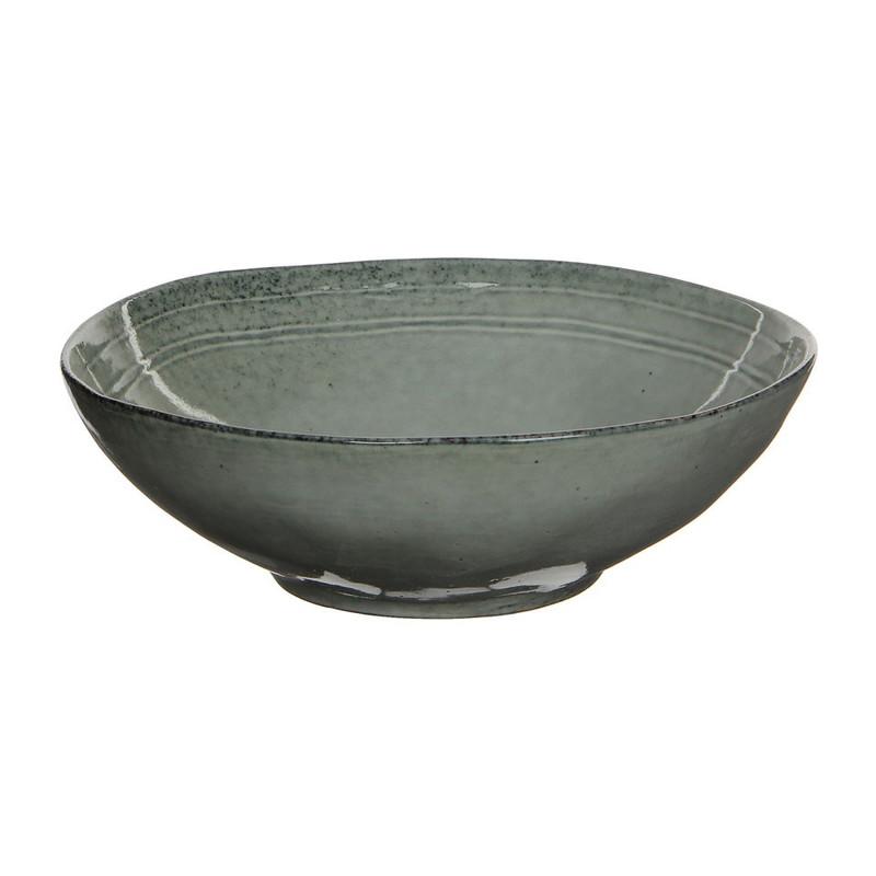Mica schaal Tabo - 23.5 cm - grijs
