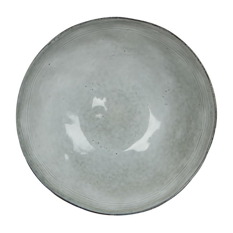 Mica bord Tabo - 20.5 cm - grijs