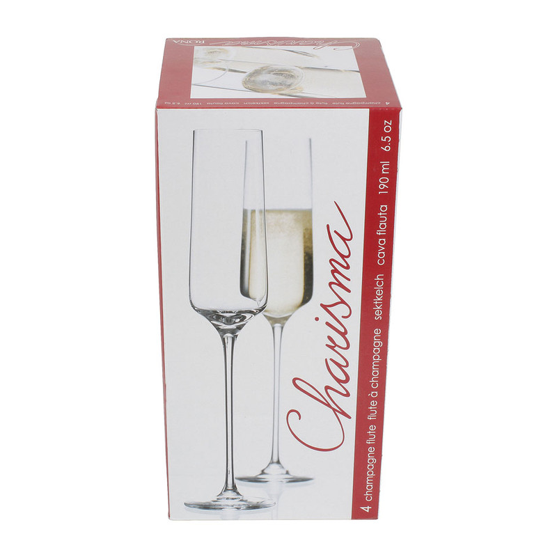 Champagneglas Charisma - 19 cl - set van 4