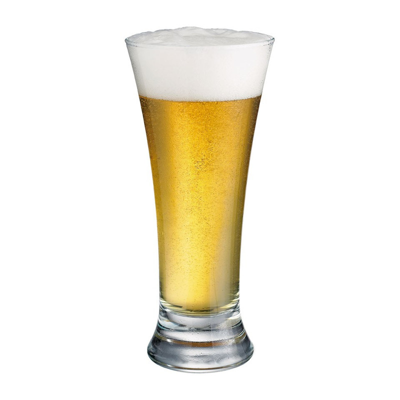Durobor bierglas pilsener - 34 cl - set van 6