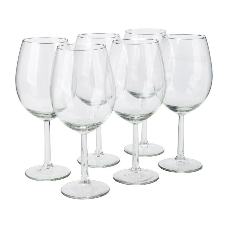 Wijnglas - 43 cl en 58 cl - set van 12