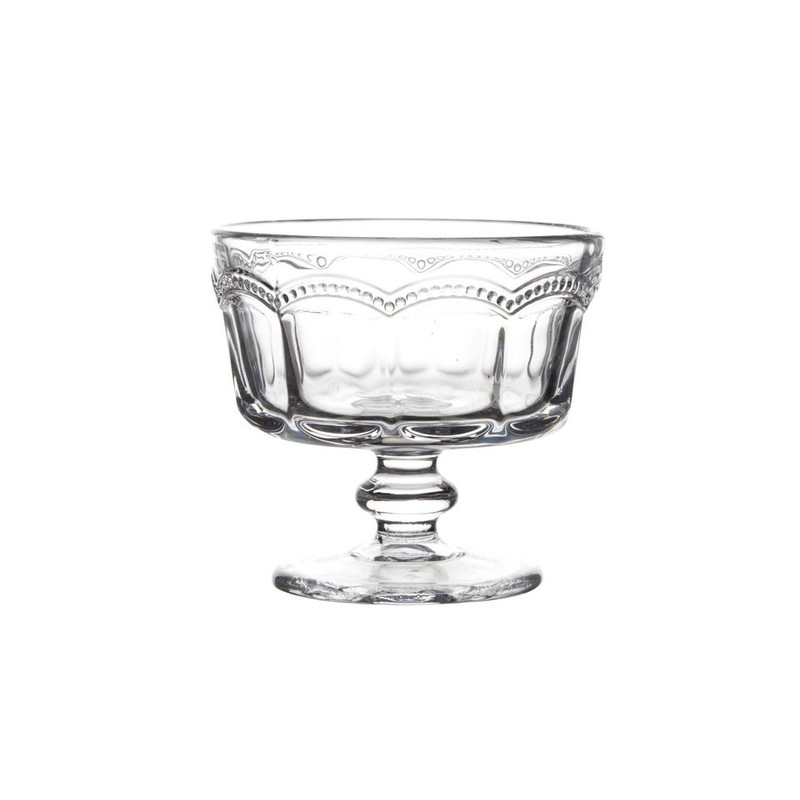 Cosy @ Home coupe glas Charles - 10x9 cm - helder