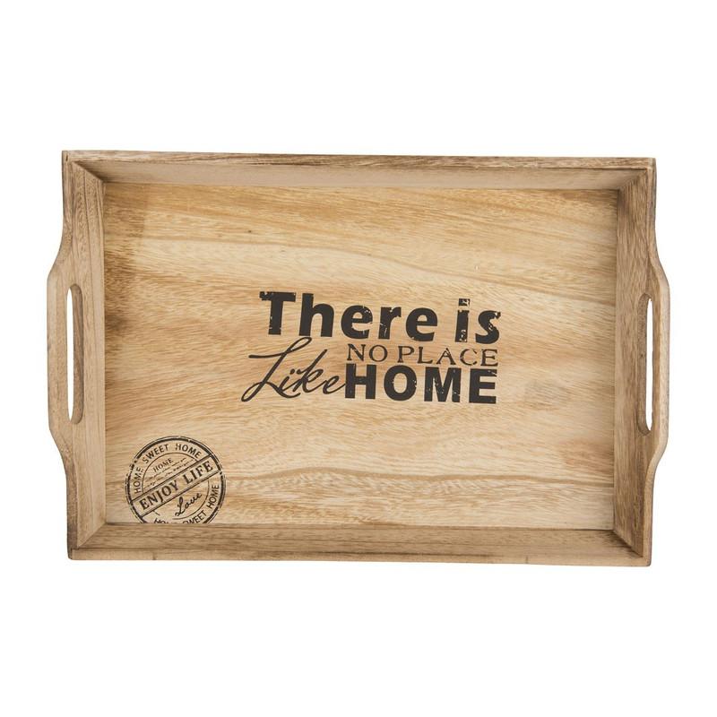 Cosy&Trendy dienblad home - 42x29x6 cm - set van 2